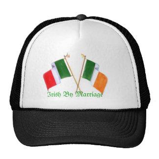 Irish and Italian Trucker Hat