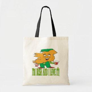 Irish And Love It Canvas Bag