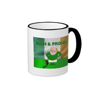 Irish and Proud Rugby Mug