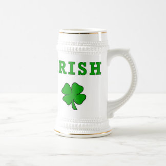 Irish and Shamrocks St Patricks Da... - Customized Beer Stein