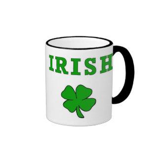 Irish and Shamrocks St Patricks Day Mug