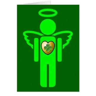 Irish Angel Blessing greeting card