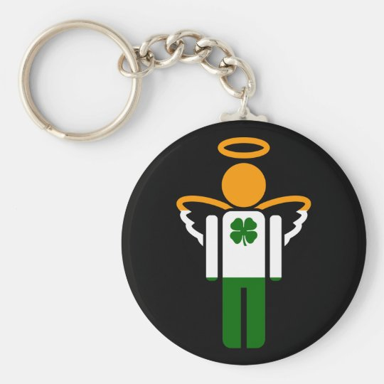 irish angel. keychain