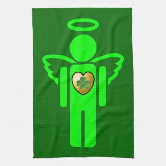 Irish Angel kitchen towel