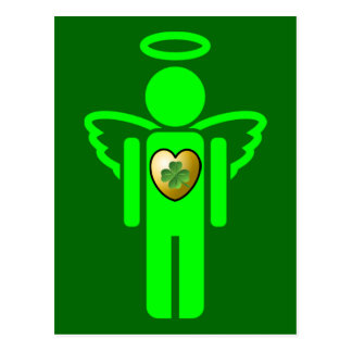 Irish Angel postcard