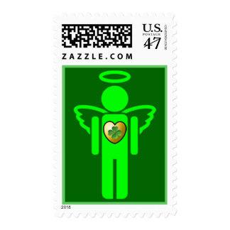 Irish Angel stamp
