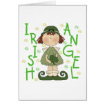 Irish Angel T-shirts and Gifts Greeting Cards