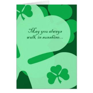 Irish Angels Card