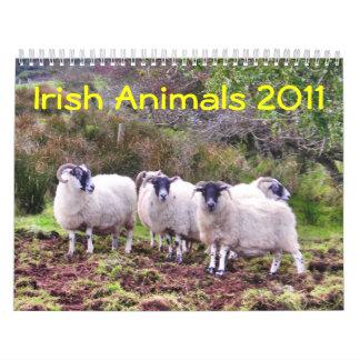 Irish Animals 2011 Calendar