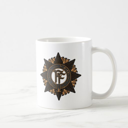 Irish Army Classic White Coffee Mug