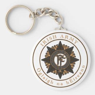 Irish Army Key Chain