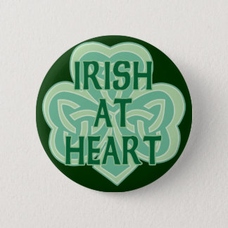 Irish At Heart Button