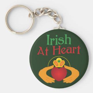 Irish At Heart Key Chains