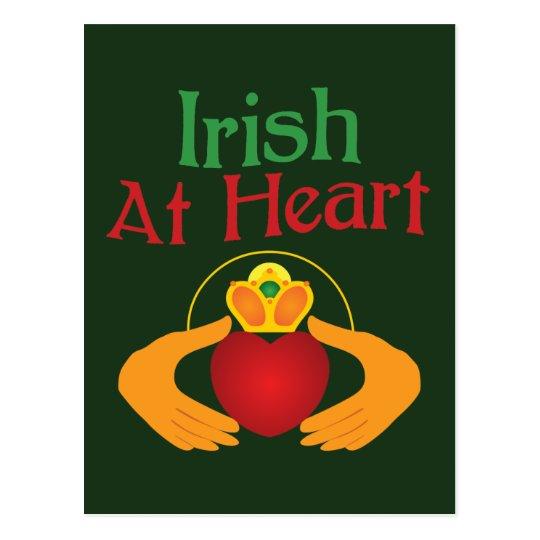 Irish At Heart Postcard