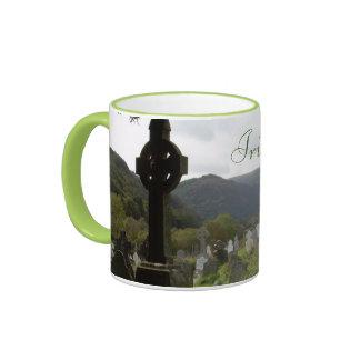 Irish at Heart Ringer Mug