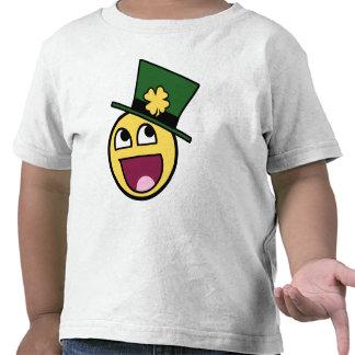 Irish Awesome Smiley T Shirts