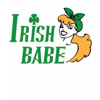 Irish Babe shirt