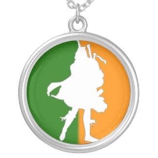 Irish Bagpipe Player Pendant