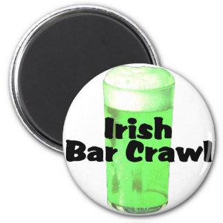 Irish Bar Crawl Magnet