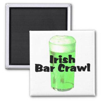 Irish Bar Crawl Refrigerator Magnets