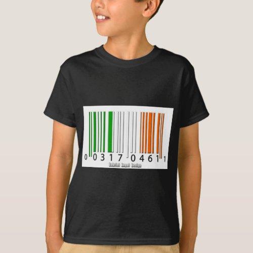 Irish  Barcode Flag T_Shirt