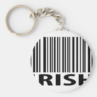 irish barcode key chain