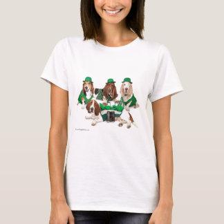 Irish Basset hound quartet T-Shirt