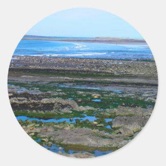 Irish Beach Classic Round Sticker