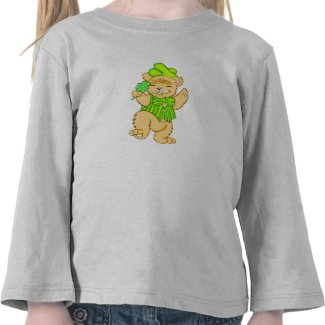 Irish Bear Kids Apparel T-shirt