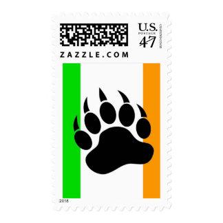 Irish Bear Pride Postage
