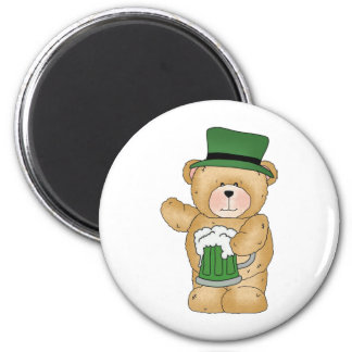 Irish Bear with Beer Magnets