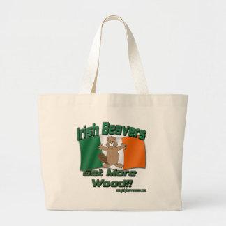 Irish Beavers Get More Wood Canvas Bags
