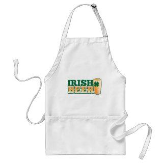 IRISH BEER ADULT APRON