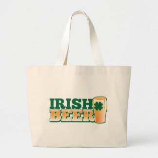 IRISH BEER JUMBO TOTE BAG