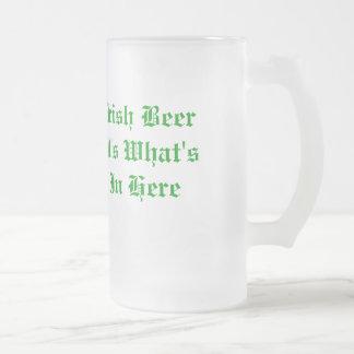 Irish Beer beer mug