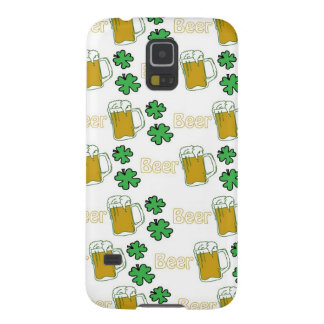Irish Beer Clovers Galaxy S5 Cover