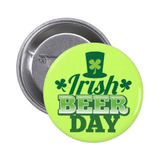Irish BEER day Pins