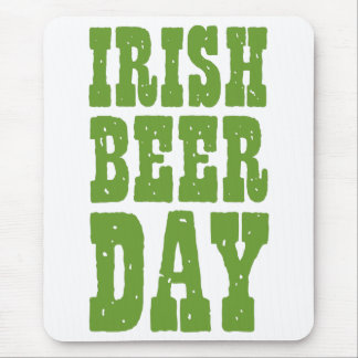 Irish Beer Day Mouse Pad