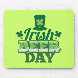 Irish BEER day Mouse Pads
