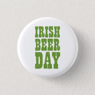 Irish Beer Day Pinback Button
