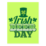 Irish BEER day Postcard