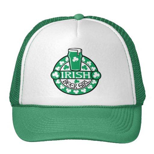 Irish Beer Girl Trucker Hat