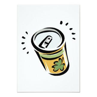 Irish Beer 5x7 Paper Invitation Card
