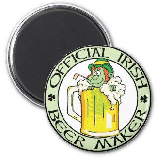 Irish Beer Maker Magnet