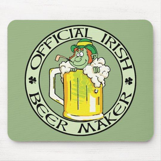 Irish Beer Maker Mouse Pad