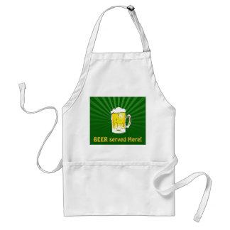Irish Beer Mug Pub-Style Kitchen Apron