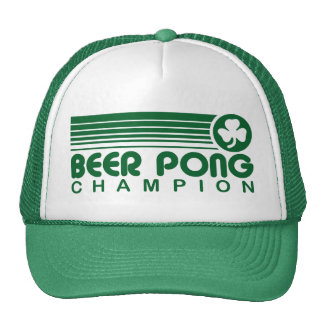 Irish Beer Pong Hats