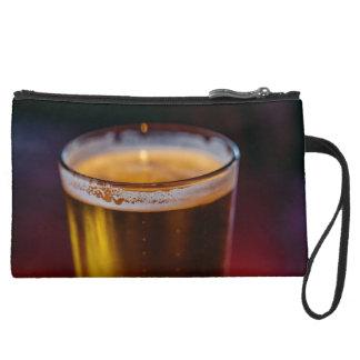 Irish Beer Suede Wristlet Wallet