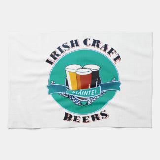 Irish Beer Towel