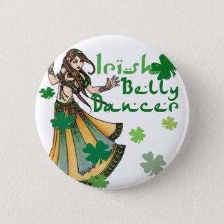 Irish Belly Dancer Button